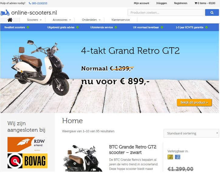 Online-scooters.nl